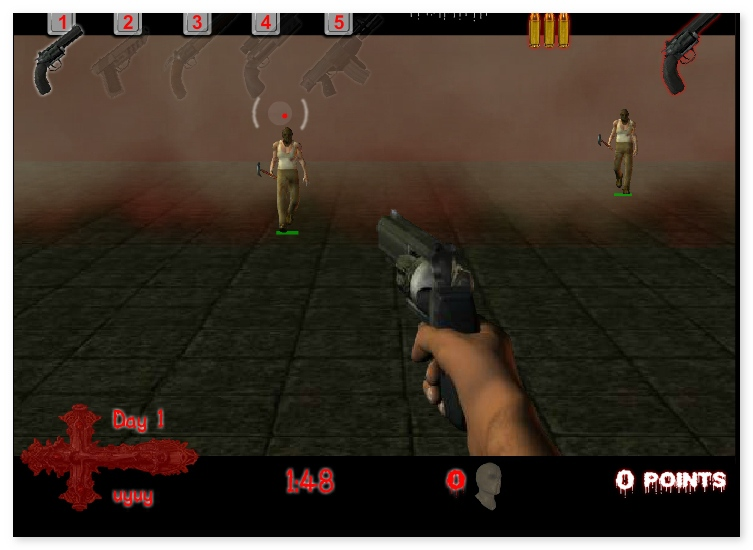 13 Days in Hell shooter First Person Shooter game image play free