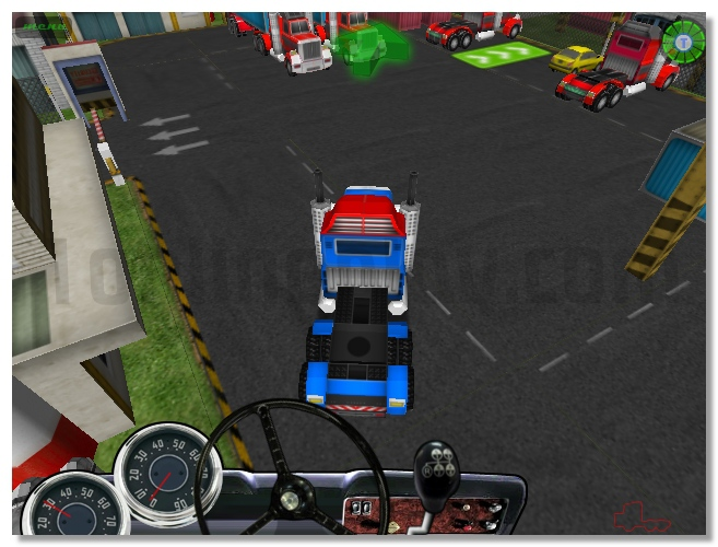 18 Wheeler 3D game drive a big truck get driver license image play free