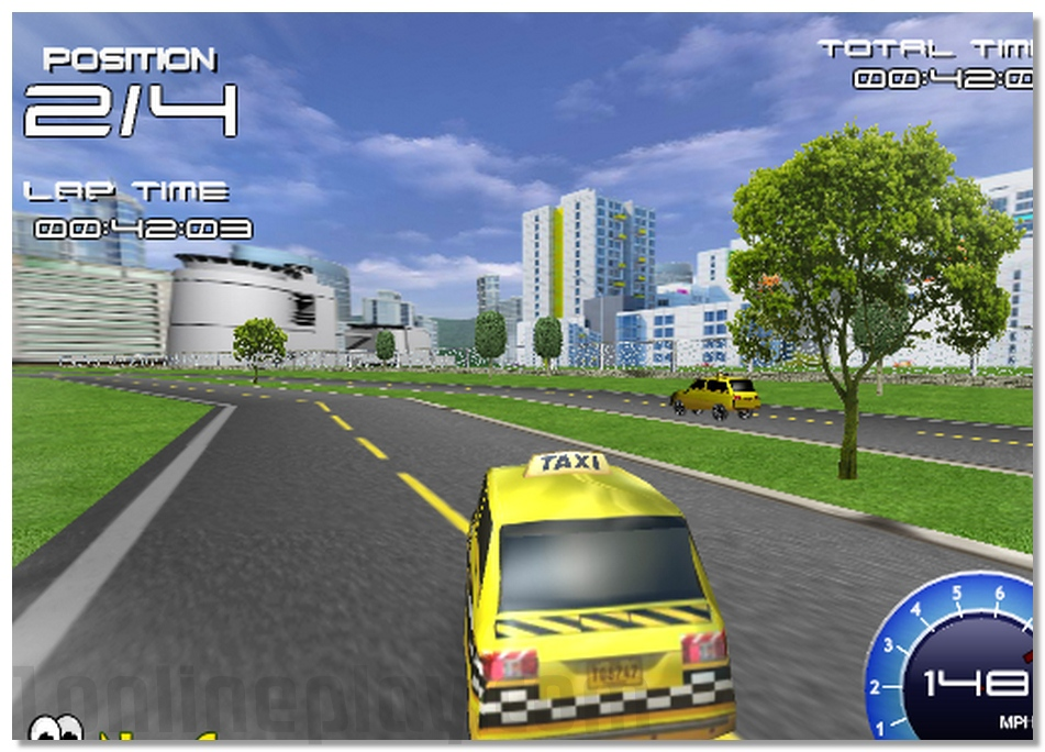 3D Taxi Racing taxi driving online game annular street racing image play free