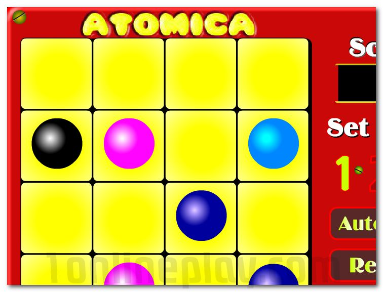 Atomic lines game puzzle for your brain image play free
