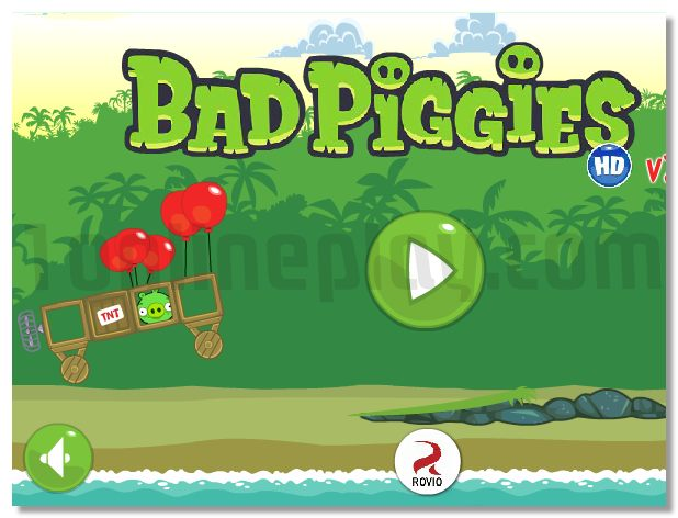Bad Piggies Pigs from Angry Birds ballistic game image play free