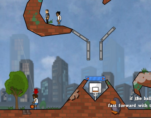 Basket Balls team basketball game vs computer opponents image play free