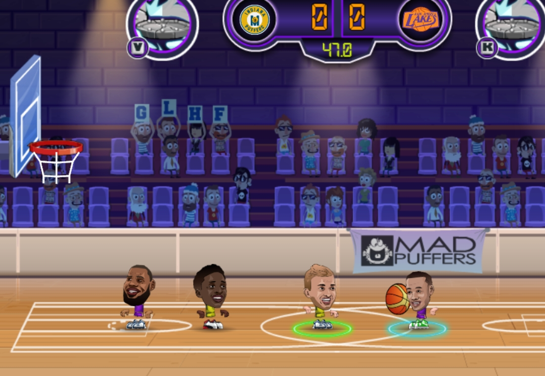 Basketball Stars fun for fans mini basketball sport no flash game image play free