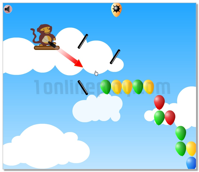 Balloons Player Pack ballistic game logical image play free