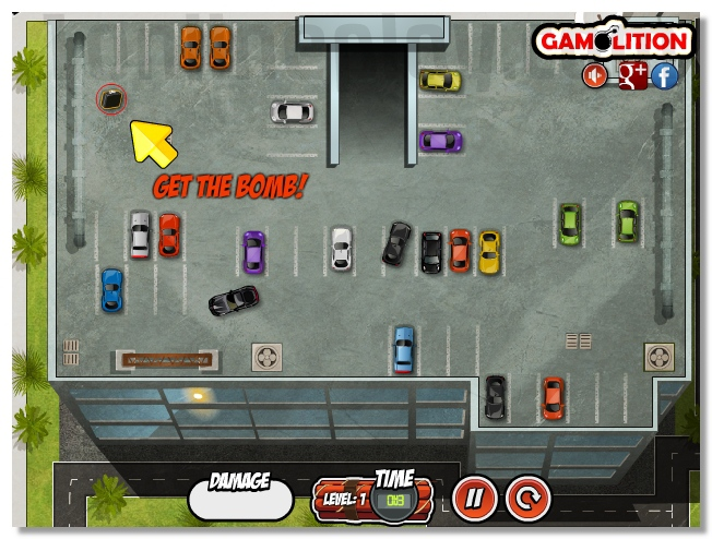 Bomb Squad Parking park the car and defuse the bomb image play free