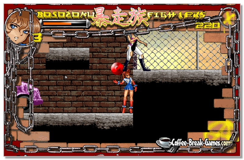 Bosozoku Fighters street fighter game image play free