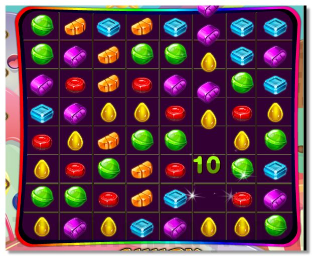 Candy Match puzzle 3 match game image play free