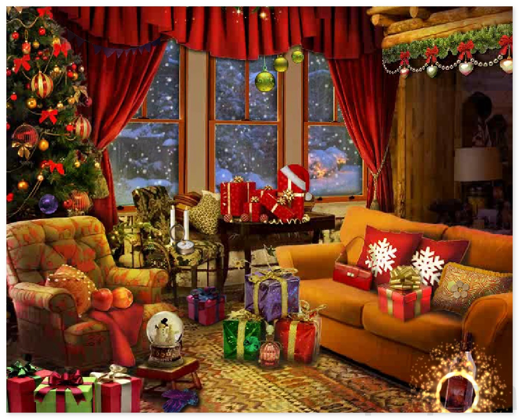Christmas Star Hidden Objects game find hidden Object Online Free ...
