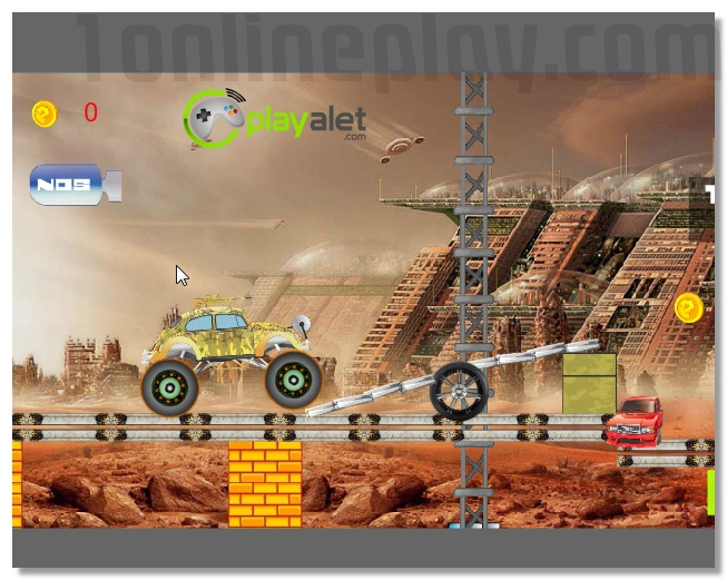 Crazy Monster Truck 3D racing image play free