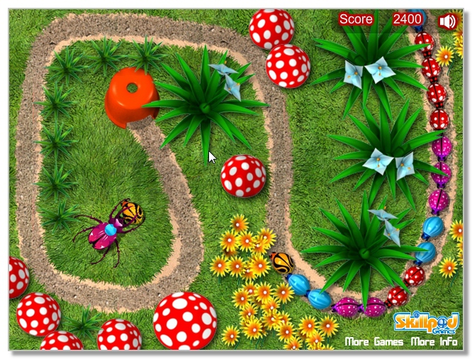 Critter Zapper free Zuma game image play free