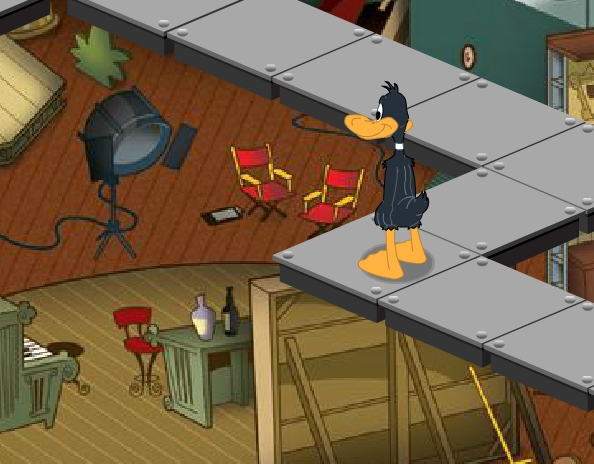 Daffy039s studio adventure Daffy Duck cartoon game image play free
