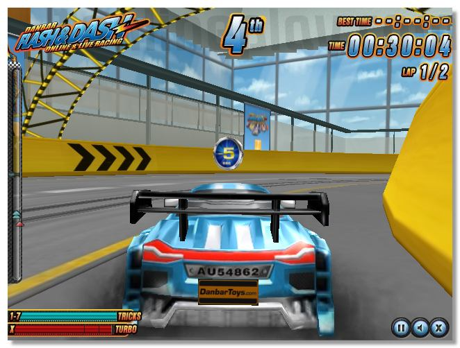 Danbar - Flash and Dash - Online Live Racing game image play free