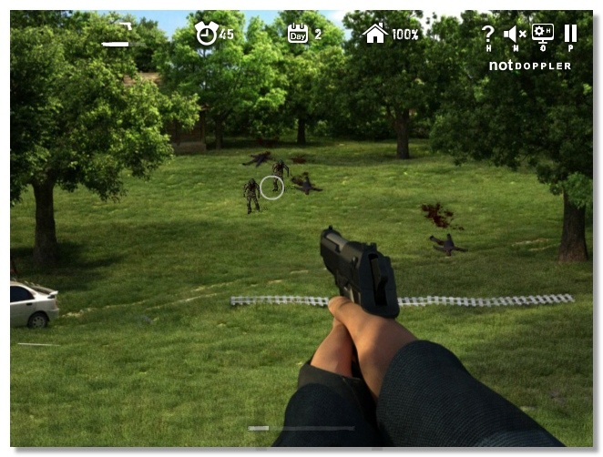 Dead Zed 2 zombie survive shooter game sequel of Dead Zed game image play free