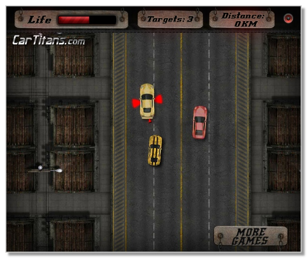 Evil Muscle Cars free aggressive racing game image play free
