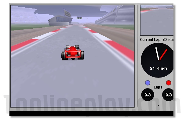 Formula Fog formula1 and nascar mini online racing game image play free