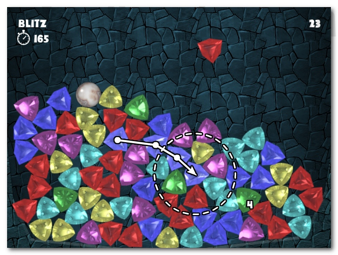 Gem Matching 3D three in line 3 match puzzle game image play free