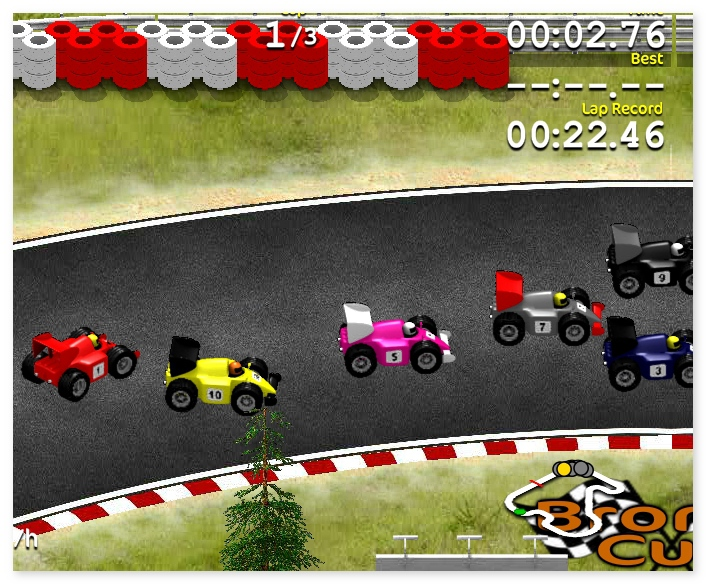 Grand Prix Go formula 1 annular racing game image play free