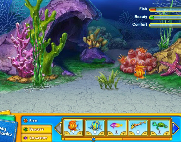 Fishdomh2o Hidden Object Game Puzzle Quest Under The Sea Online Free Games