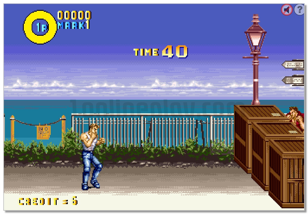 Karate Blazers fighting retro game street fighter image play free