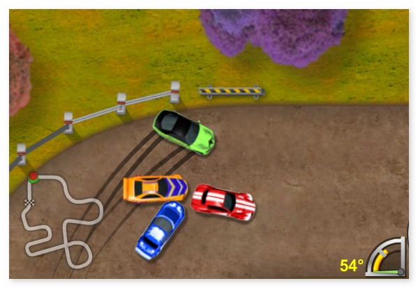 King of Drift mini cars drift racing annular race drive your car image play free
