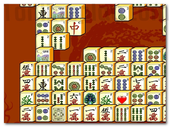 Mah Jong Connect finding pairs game 2 match game image play free