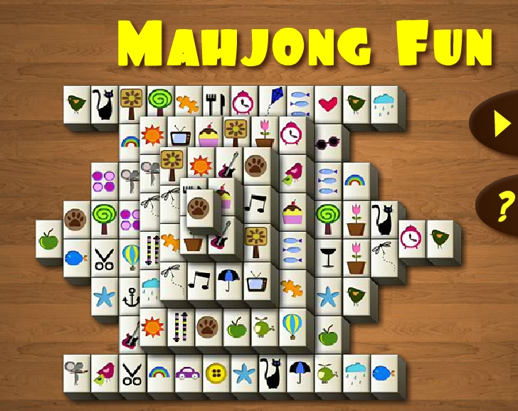 Mahjong Fun find a pair game connect 2 match puzzle image play free