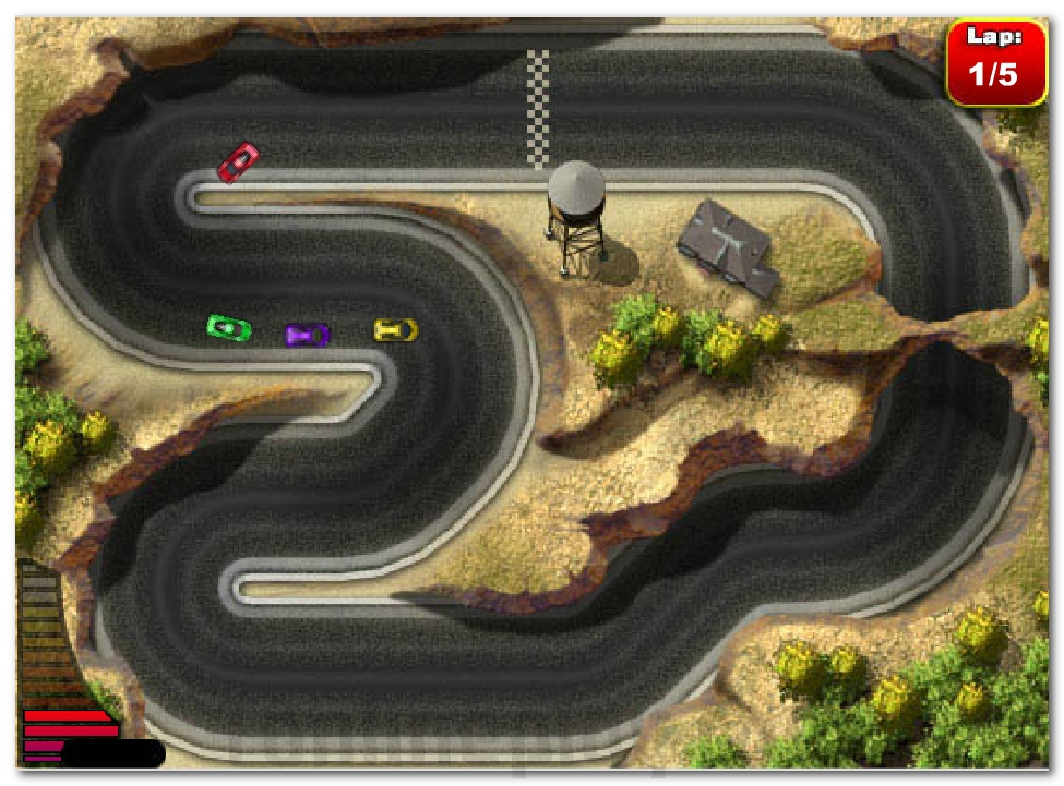 Micro Racers ride on mini cars driving game image play free