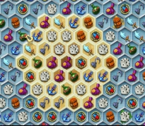 Treasures of the Mystic Sea 3 match puzzle collect gems of pirates