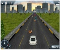 3D urban madness racing game drive you car on the city streets