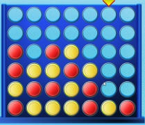 Connect 4 Four-in-a-Row logical game online puzzle