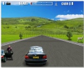 Action Driving Game aggressive racing game