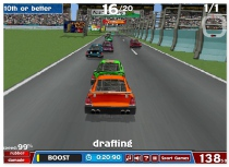 American Racing NASCAR car racing game