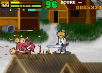 Anime hero fighter fighting retro game arcade adventure play free