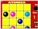 Atomic lines game puzzle for your brain
