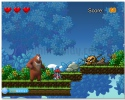 Bears Adventure arcade game in deep forest