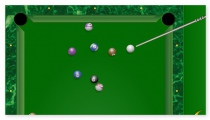 Billiard 2 players 1 player game sport challenge
