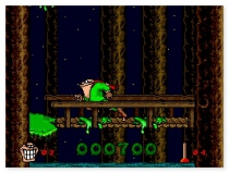 Boogerman  A Pick and Flick Adventure retro game like on SEGA or Nintendo