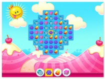 Candy Flip World candy matching HTML5 game no flash needed