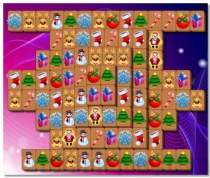 Christmas Mahjong game perfect puzzle for the holiday mood