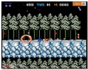 Contra Snowfield Battle winter retro fan game shooter