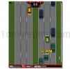 Freeway Fury 2D street game GTA style jump in car theft it and ride