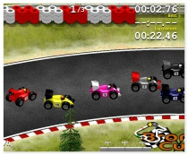 Grand Prix Go formula 1 annular racing game