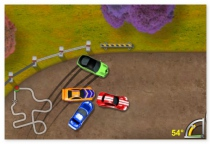 King of Drift mini cars drift racing annular race drive your car