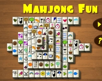 Mahjong Fun find a pair game connect 2 match puzzle