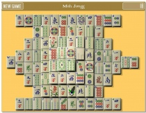 MahJongg Game logical puzzle game mahjong