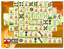 Naos Shanghai Mahjong find pair puzzle game