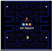 Pac-man mini retro game hit