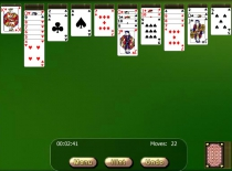 Golden Spider Solitaire free online card game