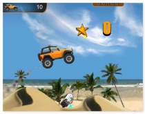 Rocky Rider driving car truck racing game