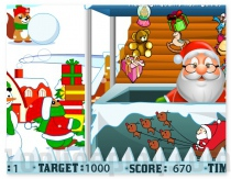 Santa Gift Shop Holidays Christmas game for girls and boys